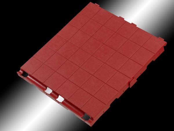 Ika-lattia,punainen